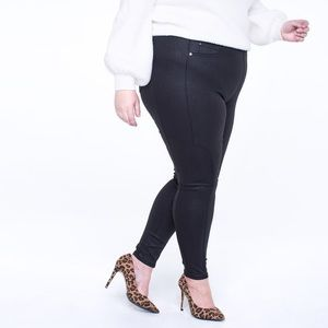 RWN by Rawan Jeans - Coated Pull On Skinny Jean